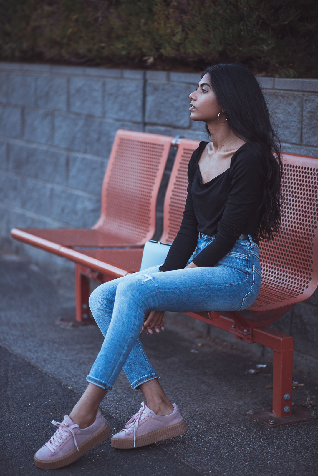 Blue Jeans Sitting