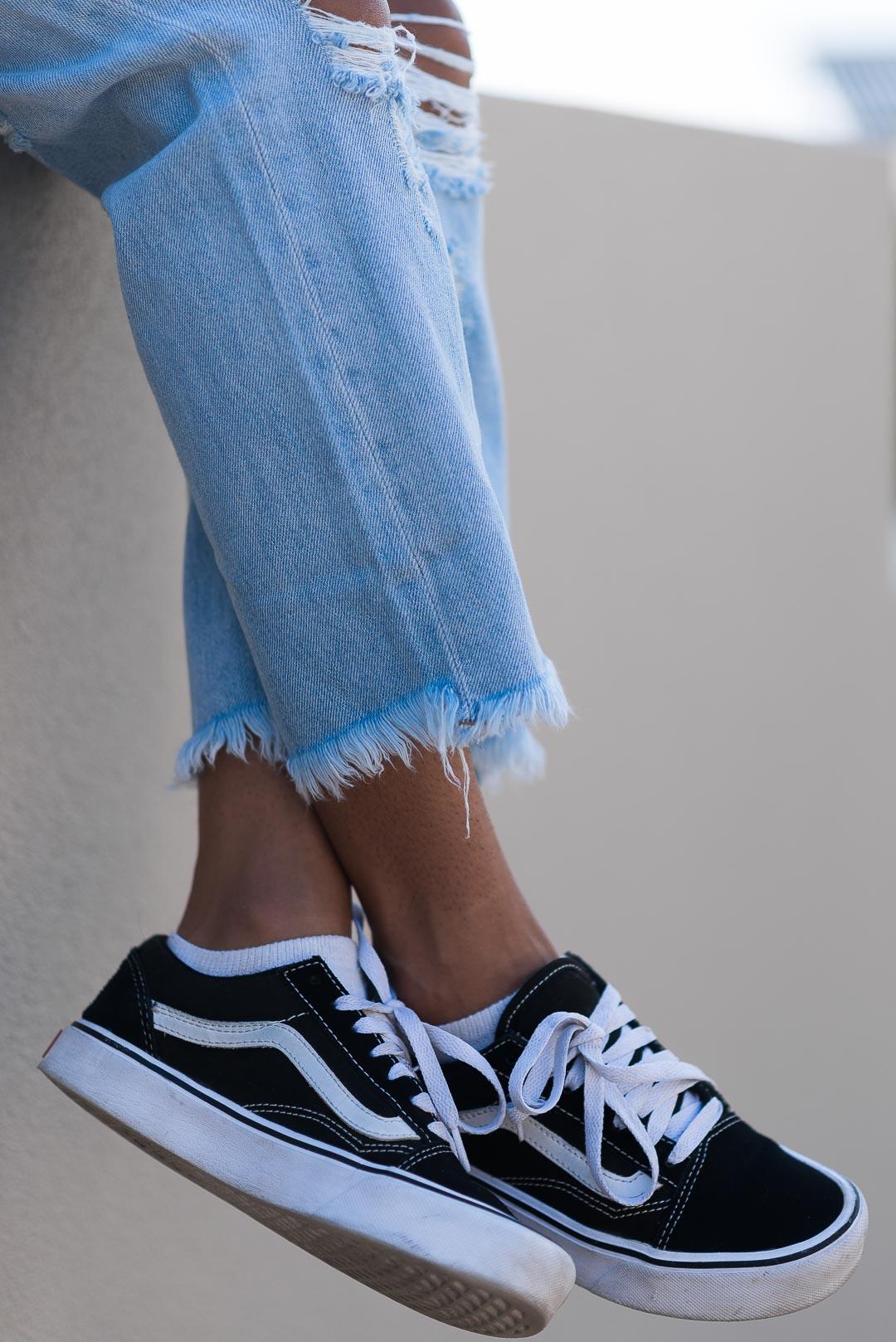 White Tshirt Blue Jeans